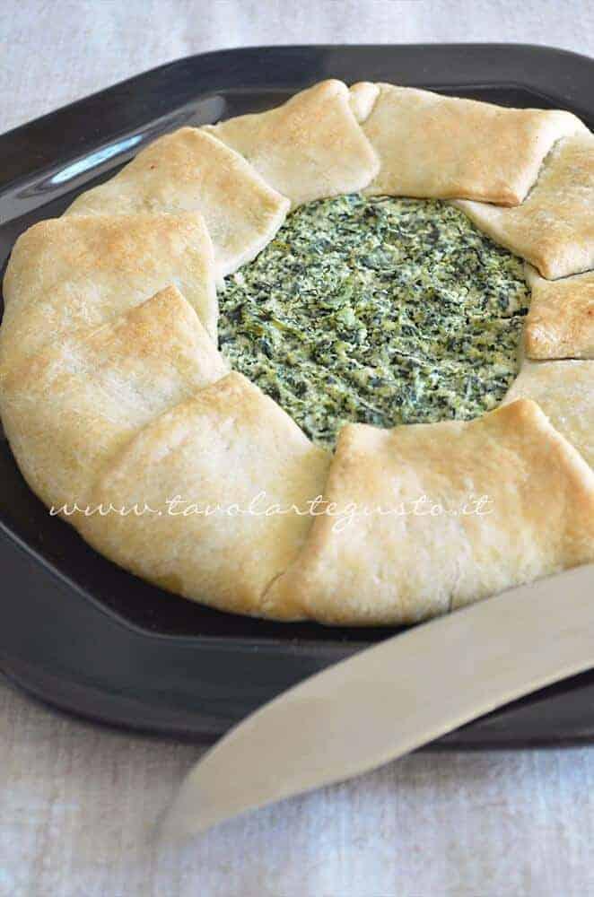 Ricetta Torta Salata Con Spinaci Senza Ricotta.Torta Ricotta E Spinaci Senza Uova Ricetta Facile