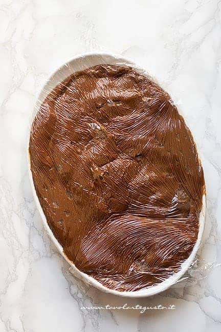 fare raffreddare la crema al cioccolato - Ricetta Crema al cioccolato