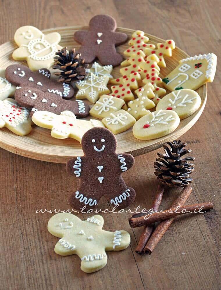 Biscotti Di Natale X Bambini.Biscotti Natalizi Decorati Ricetta Biscotti Di Natale Decorati