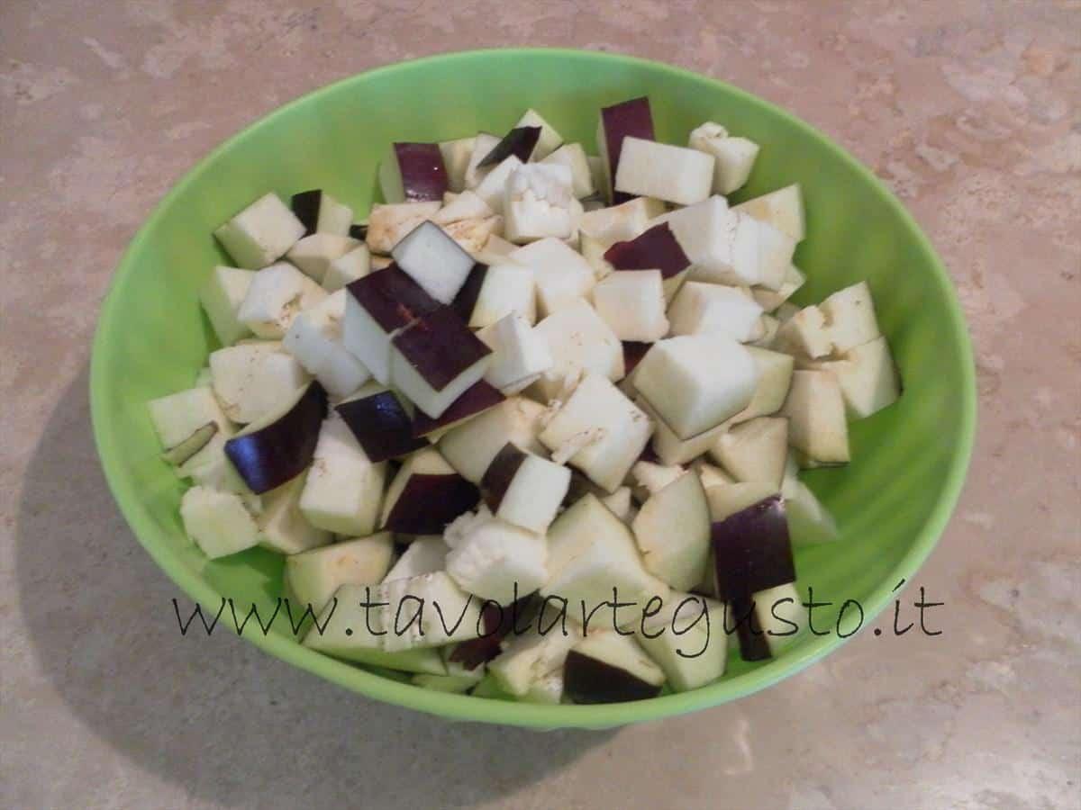 come fare i conchiglioni ripieni di melanzane e mozzarella 1