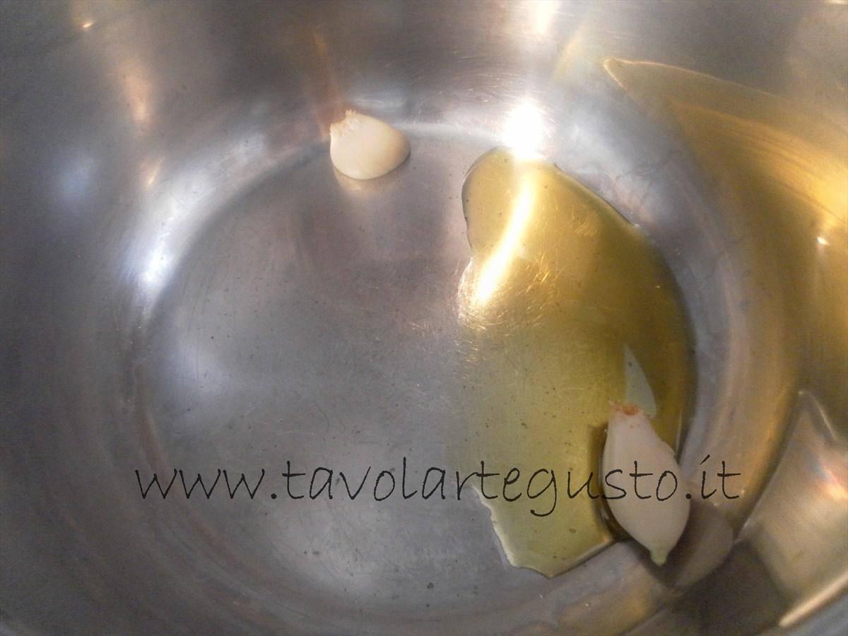 come fare i conchiglioni ripieni di melanzane e mozzarella 3