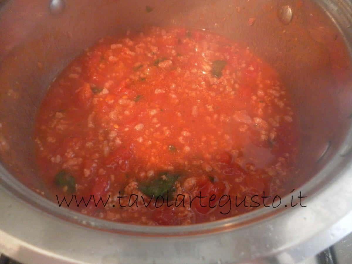 come fare i conchiglioni ripieni di melanzane e mozzarella 5
