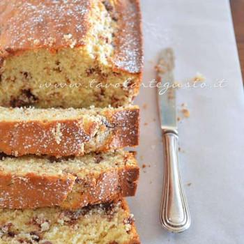 Torta ricotta e cioccolato - Ricetta Torta di ricotta e cioccolato