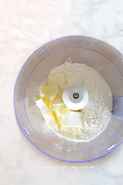 pasta frolla nel mixer 1 - Ricetta Pasta frolla per biscotti