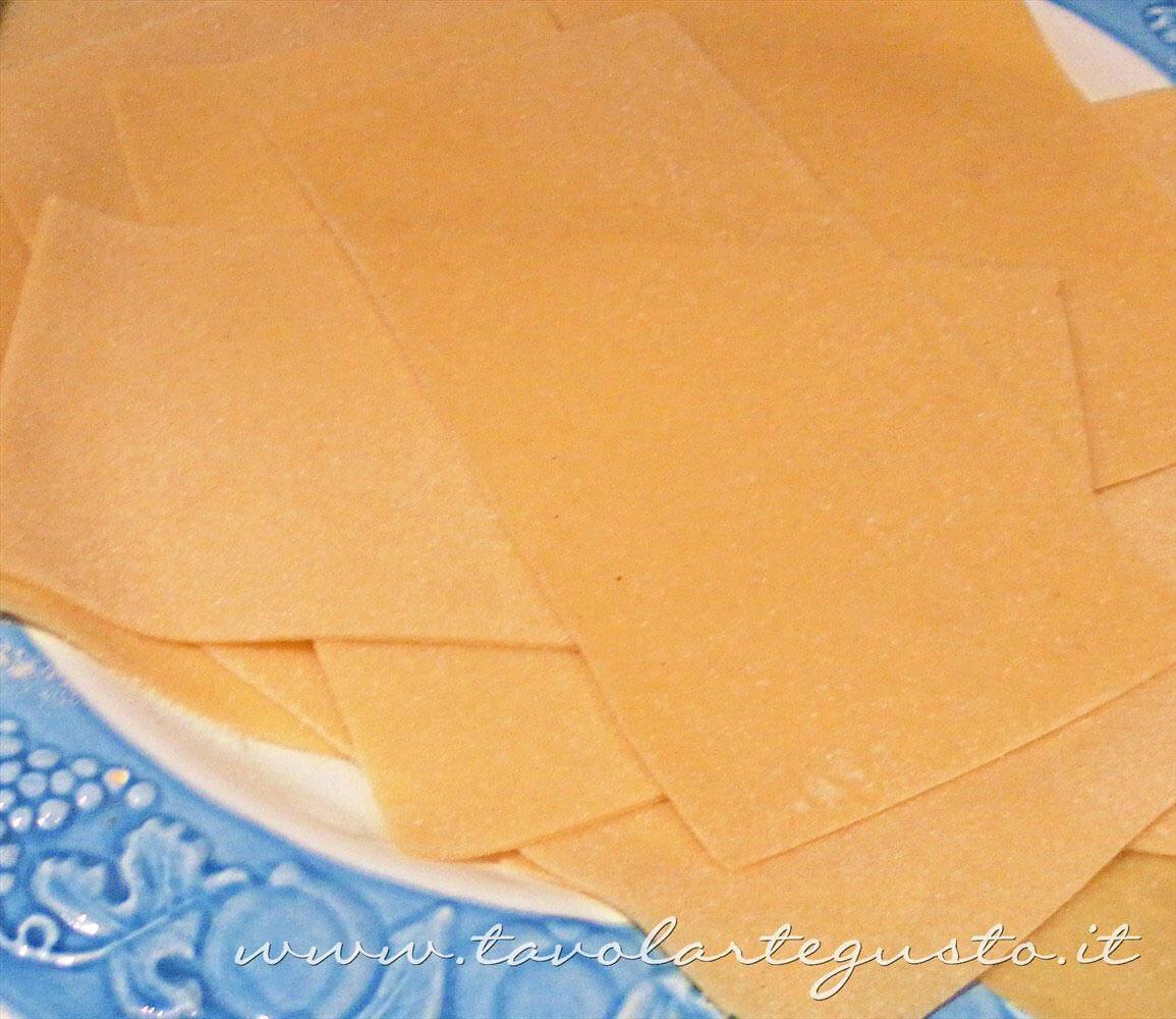 Lasagne all'uovo - Ricetta Lasagne napoletane