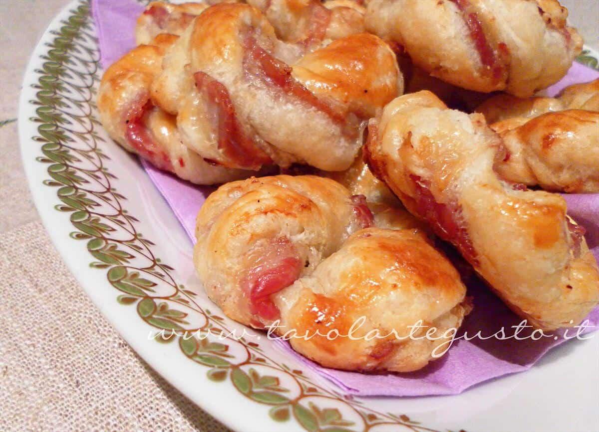 Sfogliatine di coppa (pancetta coppata) - Ricetta