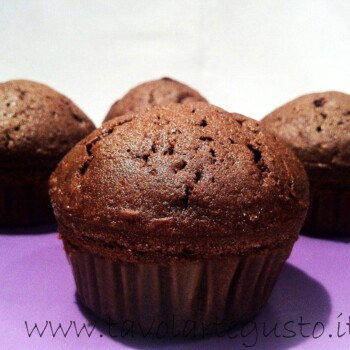 muffin al cioccolato e gianduia 11