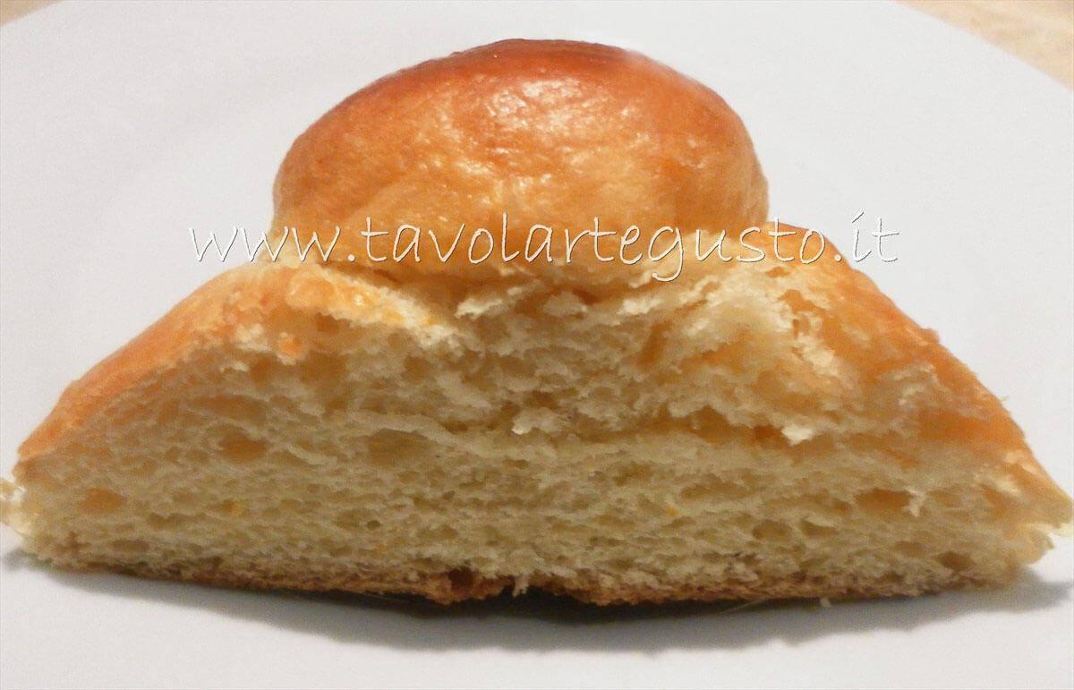 Brioche dolci morbidissime dopo 9 h - Pasta Brioche Ricetta - Brioches dolci