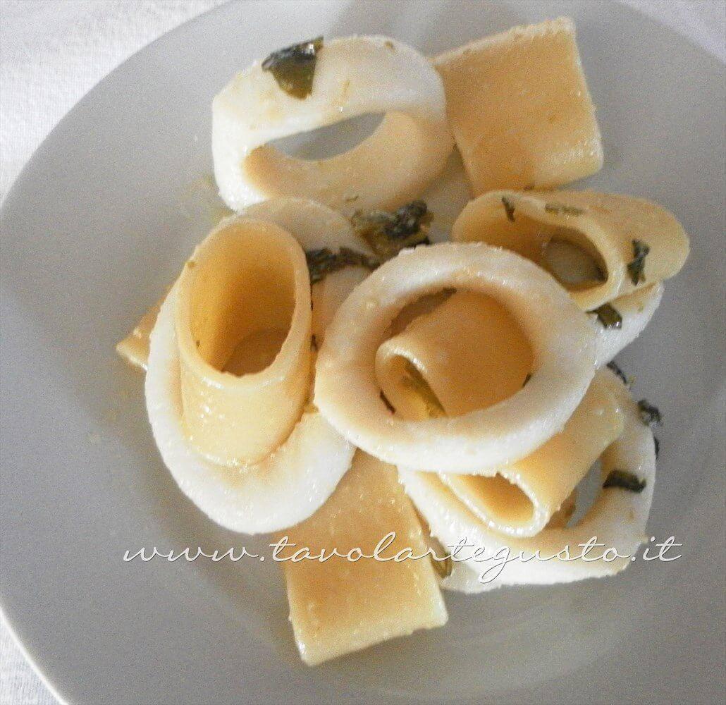 Calamarata di Totani- Ricetta Calamarata di Totani