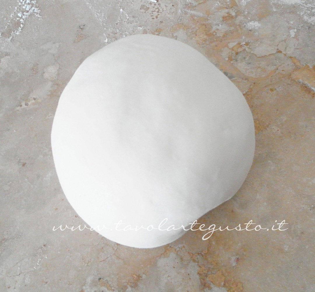 Formare una palla - Ricetta Pasta di Zucchero - Glassa Fondente