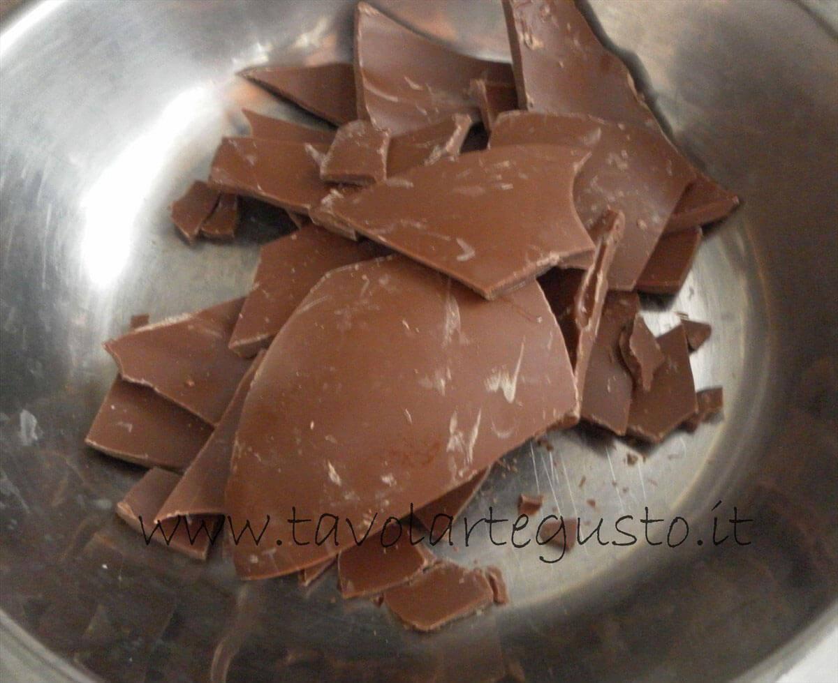 Tronchetto al cioccolato5