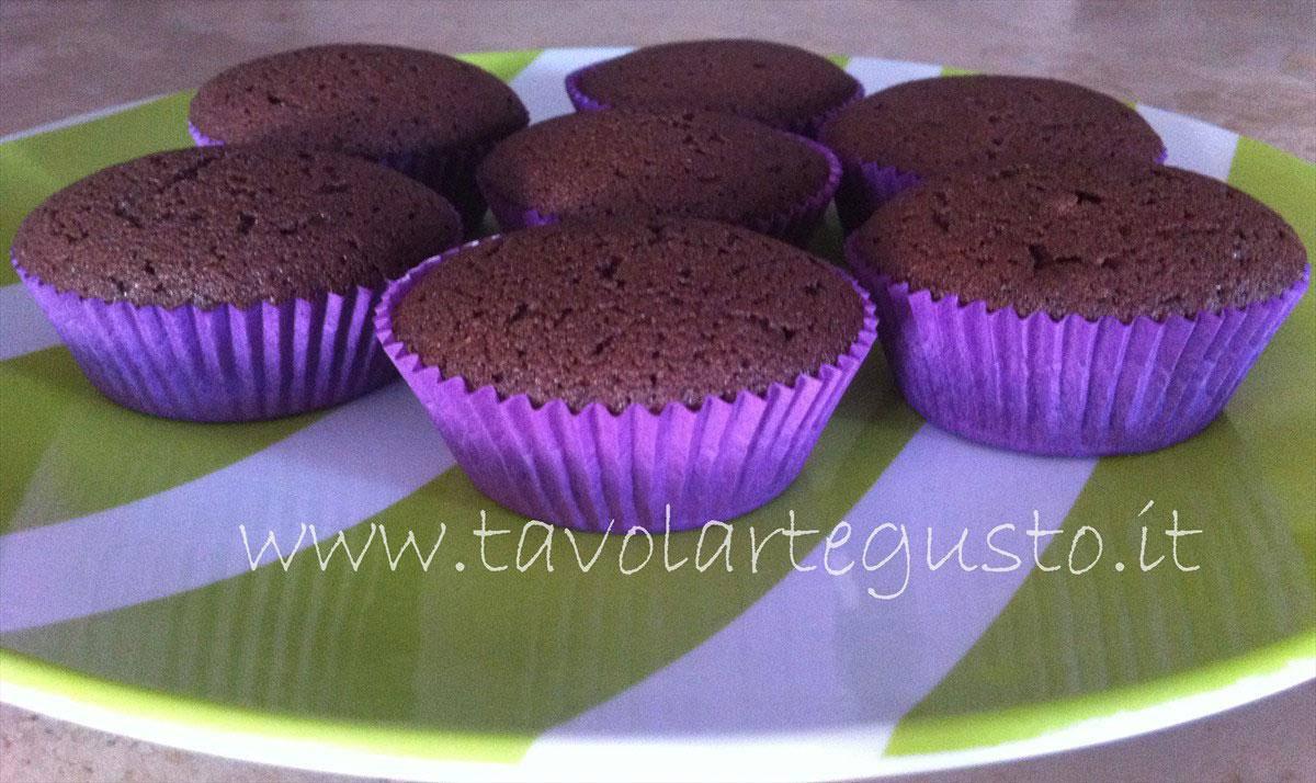 cupcakes al cacao con crema alla nutella8