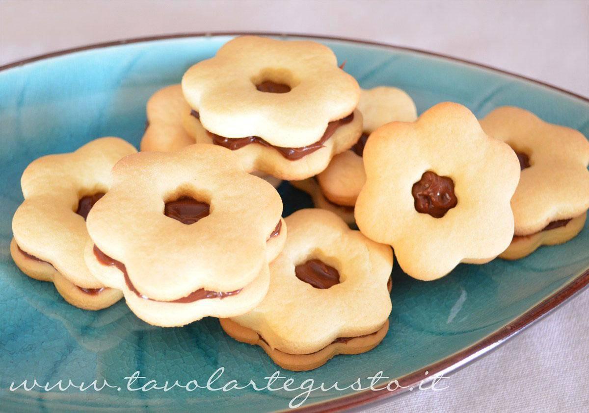 Biscotti veloci con Philadelphia Milka - Ricetta