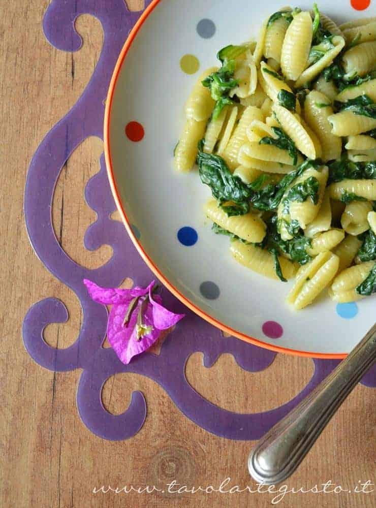 gnocchetti spinaci e taleggio0