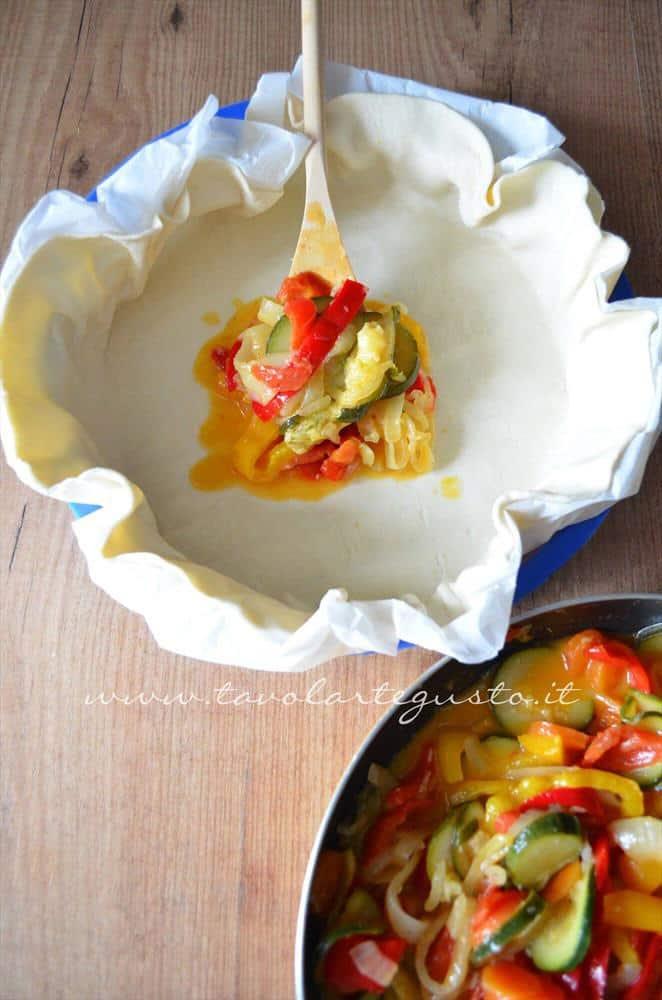 torta salata alle verdure11