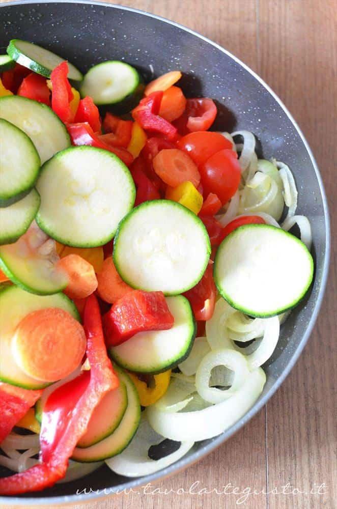 torta salata alle verdure5