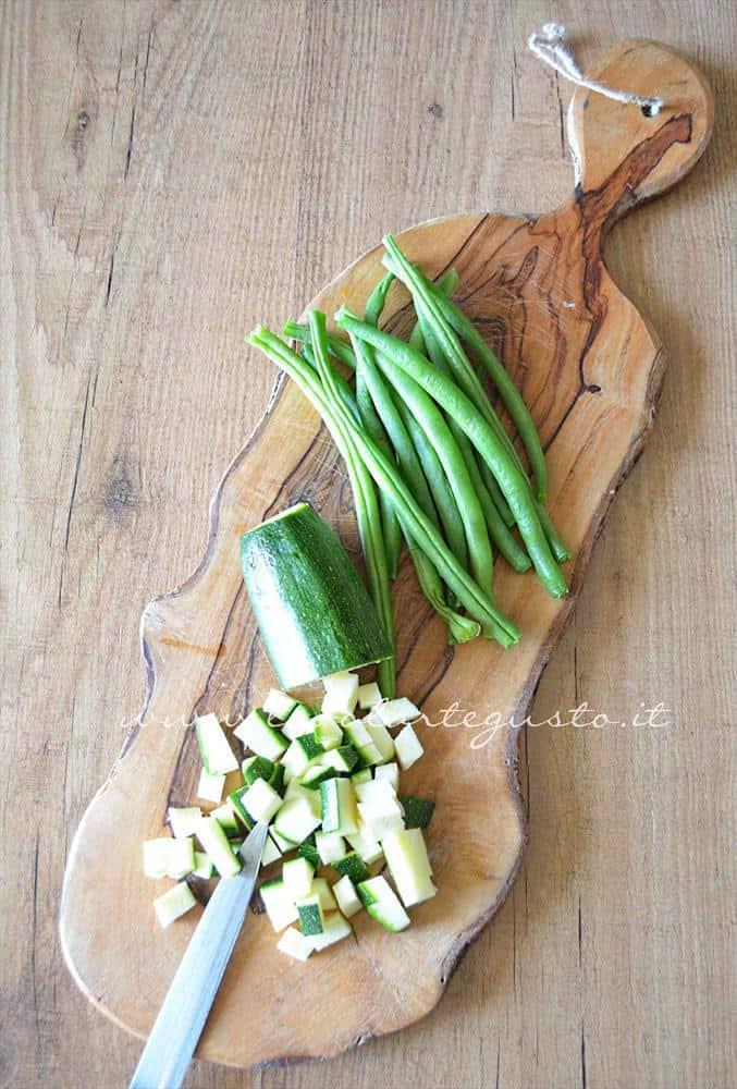 cornetti salati zucchine, fagiolini e prosciutto1