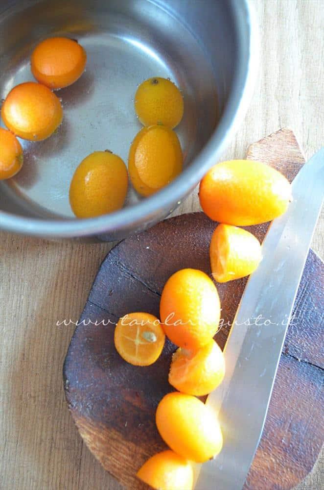 scaloppine al kumquat, peperoncini verdi e mandorle8