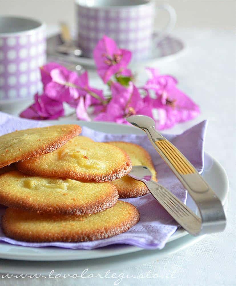 biscotti morbidi all'ananas