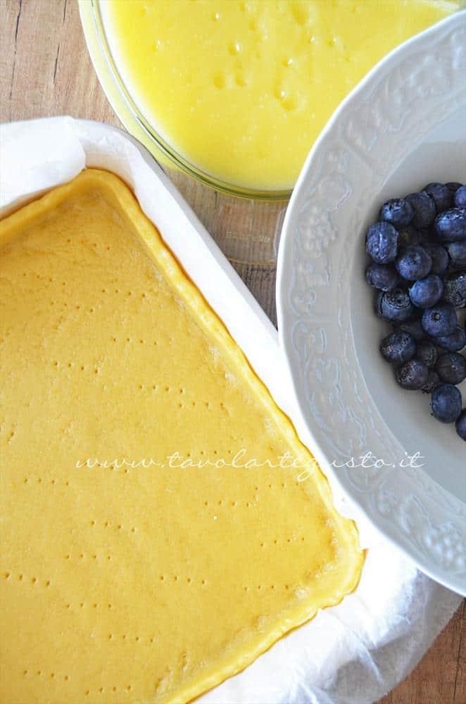 crostata al limone, mirtilli e mandorle9