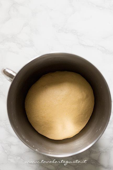 Impasto incordato - Ricetta Pane di Zucca al cioccolato