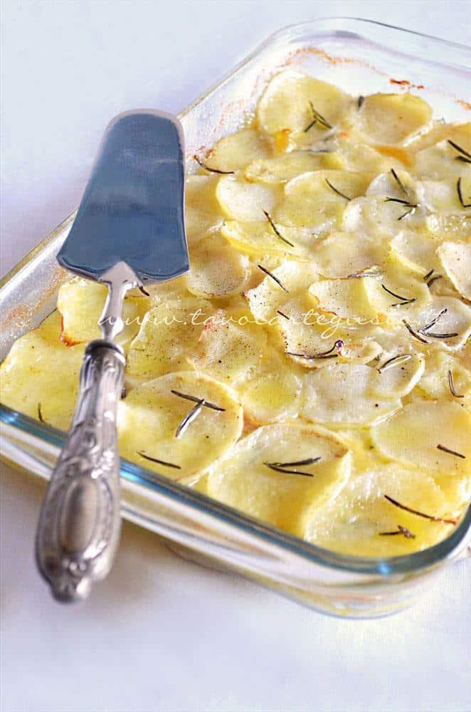 Millefoglie di patate - Ricetta