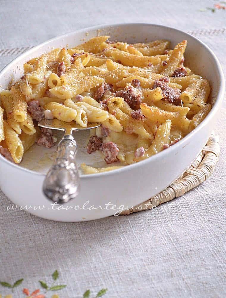 Ricetta pasta con cavolfiore e besciamella