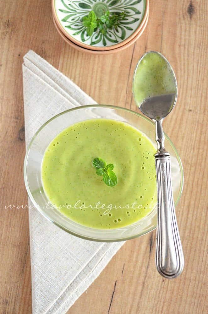 Crema di zucchine - Vellutata di zucchine - Ricetta