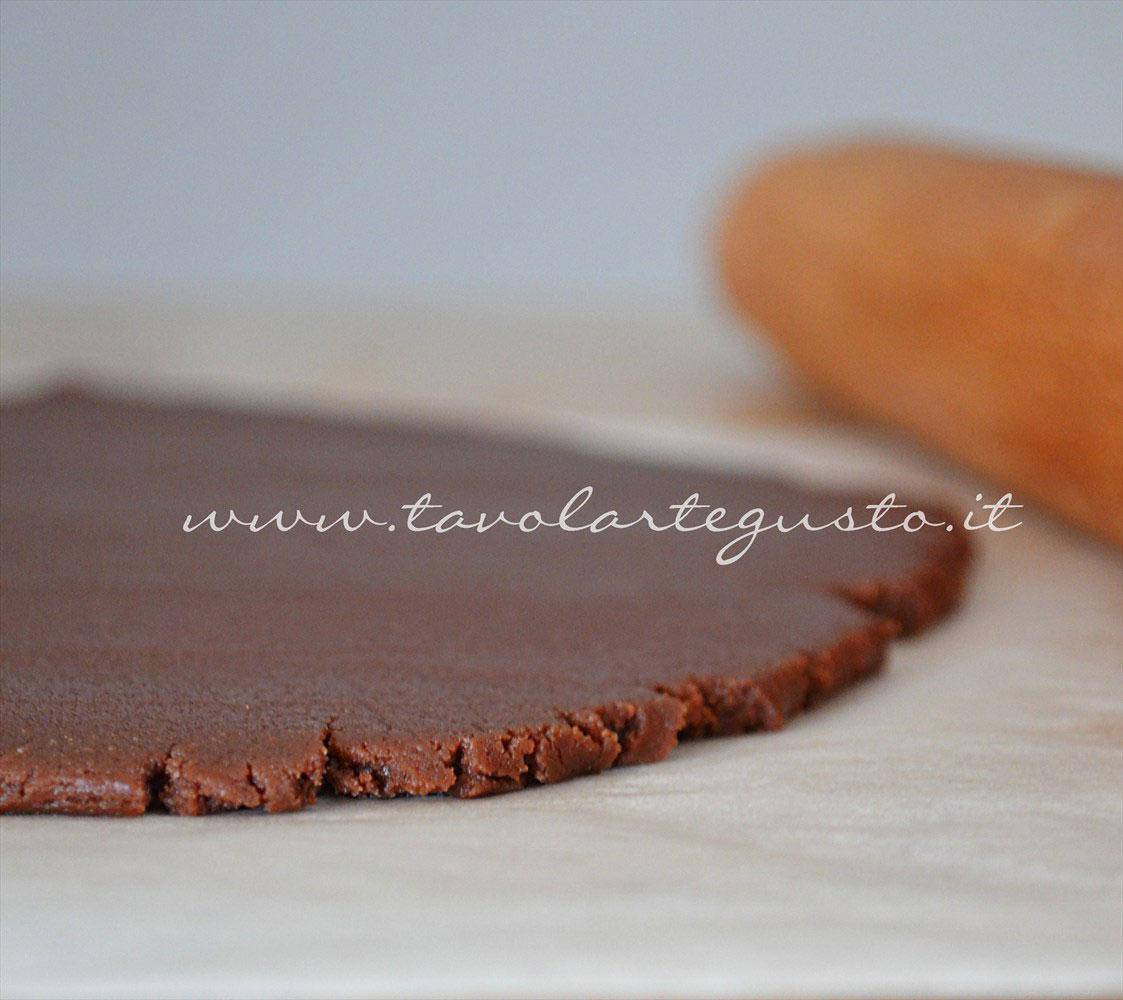 Stendere la pasta frolla - Ricetta Pasta frolla al cacao
