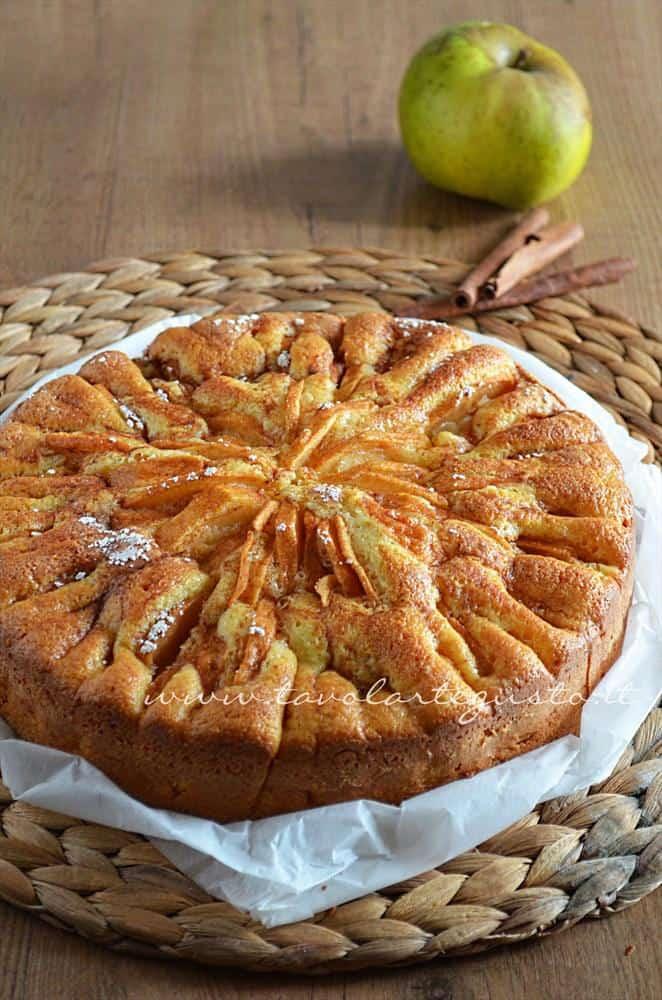 Torta di mele - Torta di mele soffice - Ricetta Torta di mele.