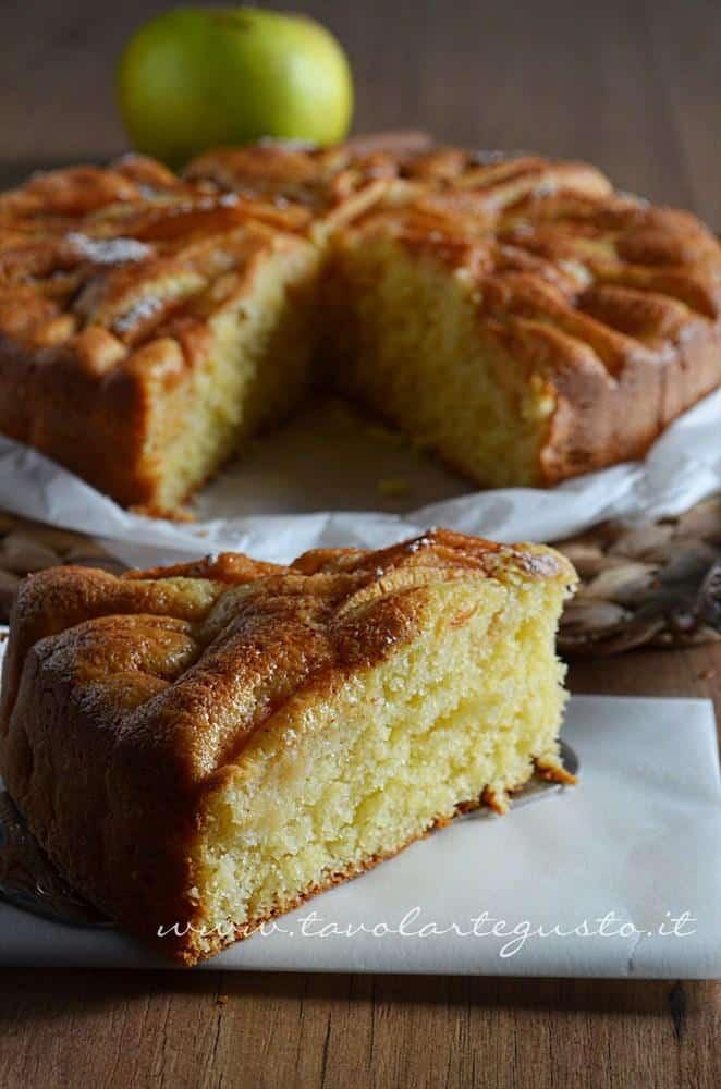 Torta di mele - Torta di mele soffice - Ricetta Torta di mele