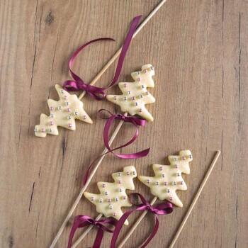 Biscotti lecca lecca natalizi - Christamas cookies pops Ricetta