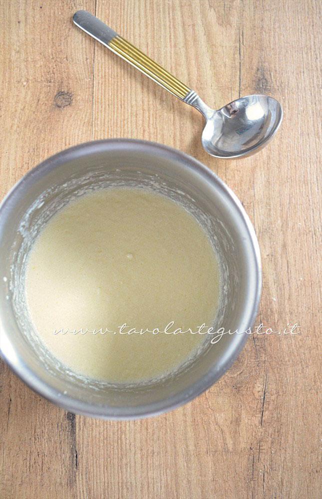 Pastella per le crepes - Ricetta Rotolini di Crepes alla ricotta