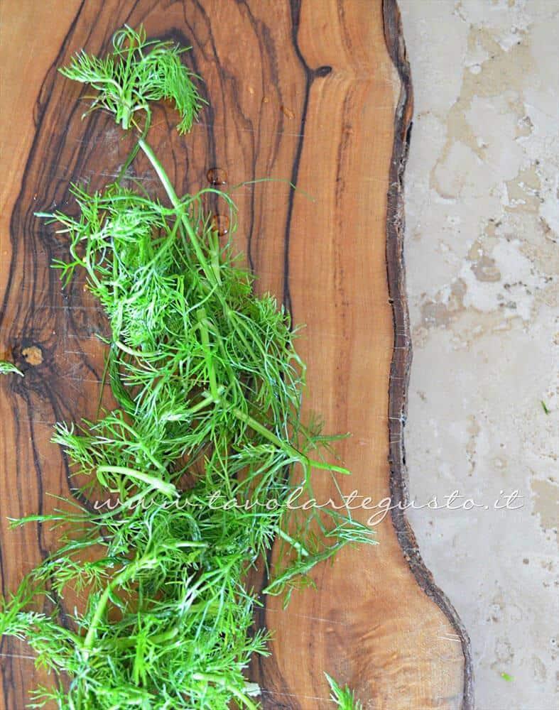 Finocchietto selvatico fresco - Ricetta Frittata light al finocchietto