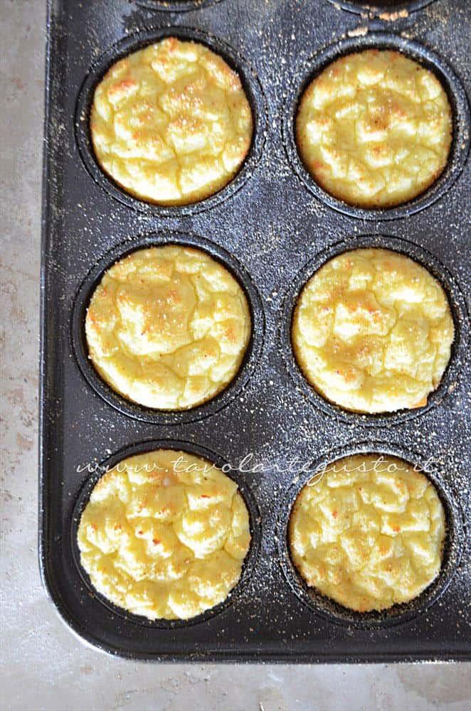 Sformatini di patate - Ricetta Sformatini di patate con funghi