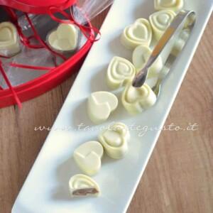 Cioccolatini ripieni - Ricetta Cioccolatini ripieni