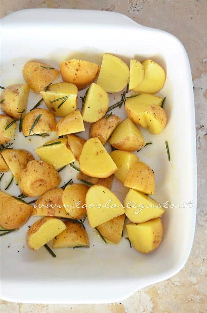 Insaporire le patate - Ricetta Arrosto di Vitello al forno con patate