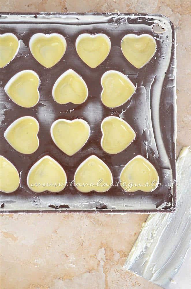 Rasare i gusci - Ricetta Cioccolatini Ripieni