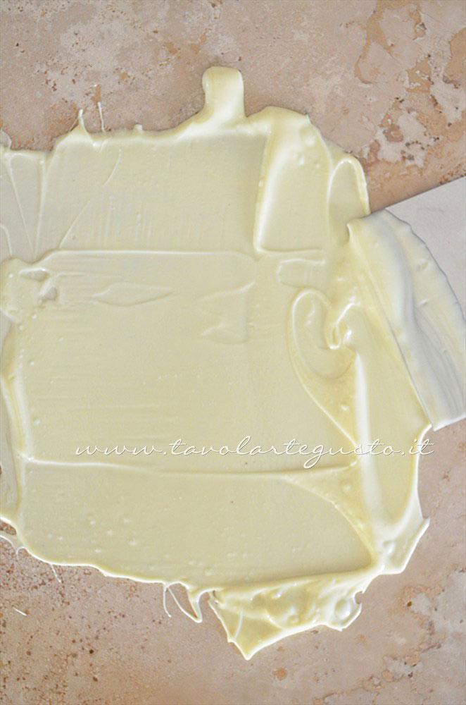 Temperaggio cioccolato bianco 2 - Ricetta Cioccolatini Ripieni
