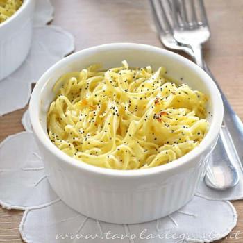 Tagliolini al limone - Ricetta Tagliolini al limone