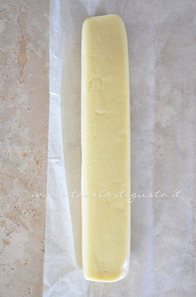 Parallelepidedo di impasto -  Ricetta Biscotti per colazione Campagnole home made