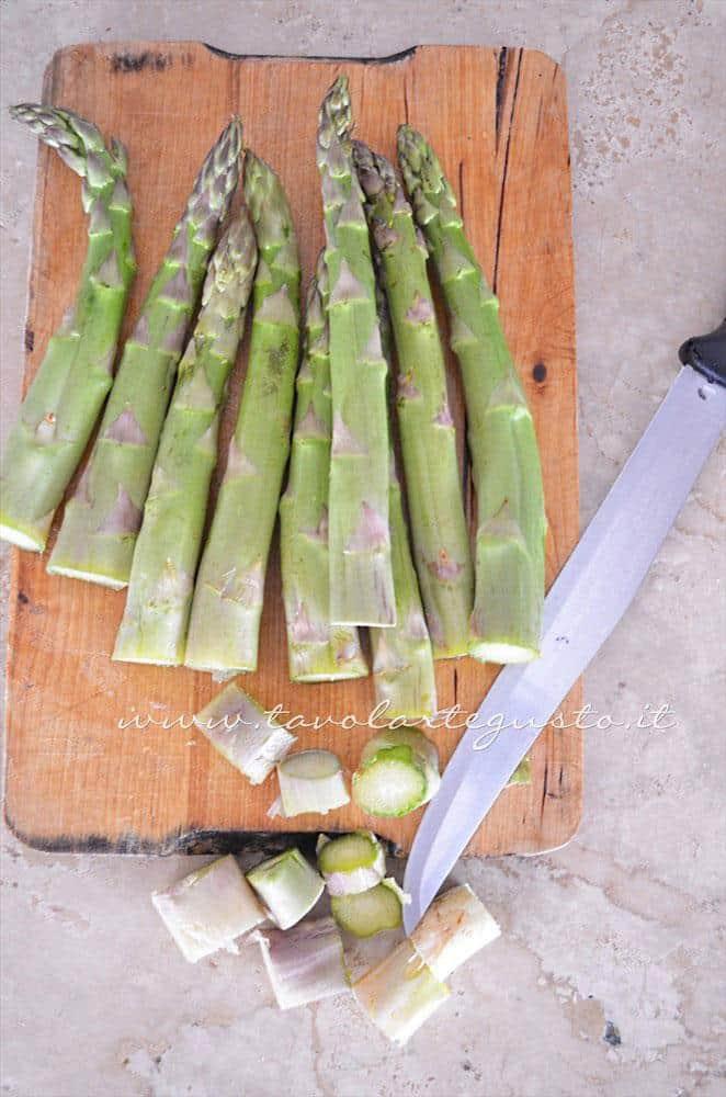 Pultire gli asparagi - Ricetta Strudel di verdure