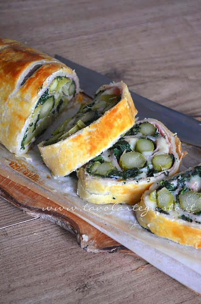 Strudel di verdure - Ricetta Strudel di verdure