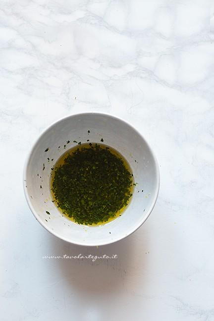 condimento - Ricetta Polpo all'insalata - Insalata di polpo