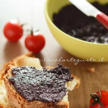 Patè di olive nere - Ricetta Patè di olive nere