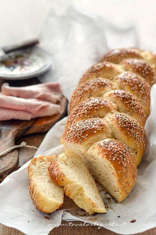 Pan brioche senza burro - Pan brioche all'olio - Ricetta Pan brioche all'olio