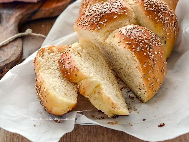 Pan brioche senza burro - Pan brioche all'olio