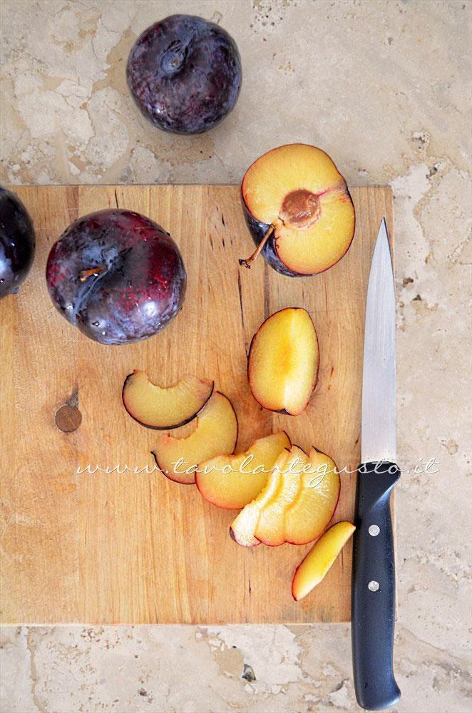 Affettate le prugne - Ricetta Torta di prugne