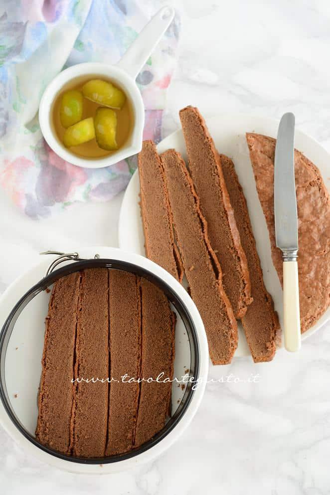 Assemblare la Torta Foresta nera1 - RicettaTorta Foresta Nera Exotic Flavours