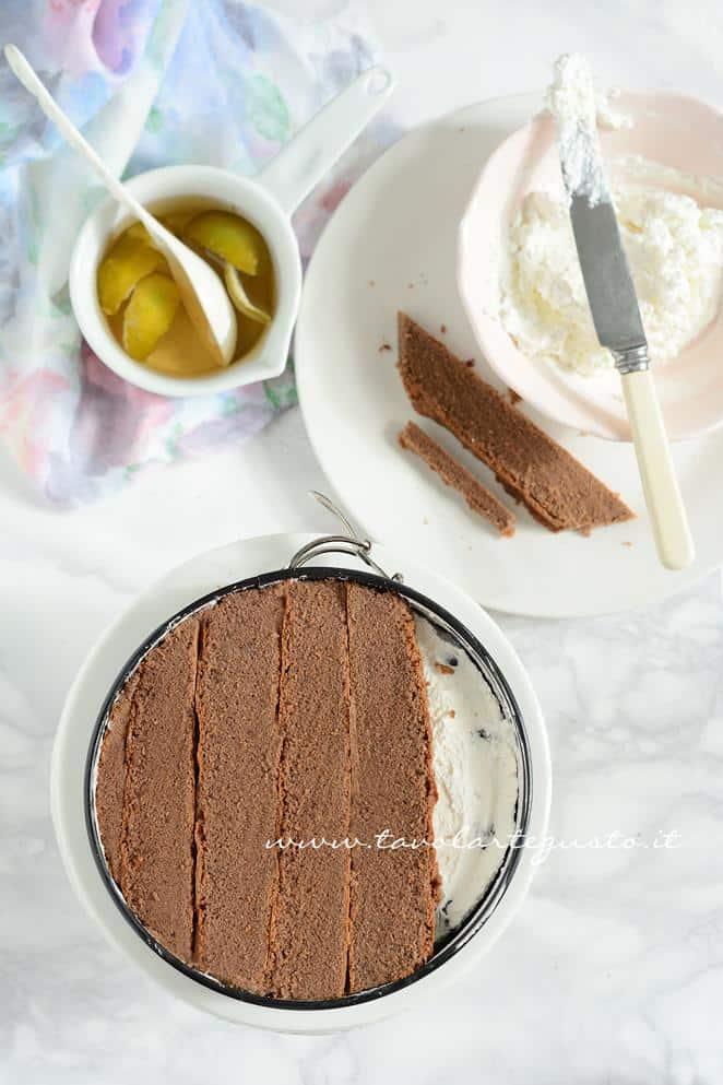 Assemblare la Torta Foresta nera3 - RicettaTorta Foresta Nera Exotic Flavours